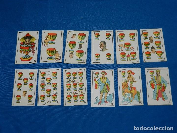 Barajas de cartas: BARAJA DE BOXEO - CAMPEONES DE BOXEO 1923 , COMPLETA 48 CARTAS EN MUY BUEN ESTADO DE CONSERVACION - Foto 5 - 82483604