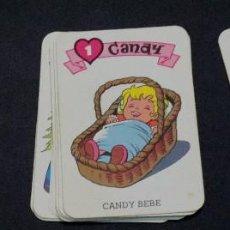 Barajas de cartas: BARAJA CANDY CANDY EDICIONES RECREATIVAS AÑO 1984 COMPLETA SIN CAJA. Lote 82751872
