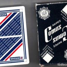 Baralhos de cartas: BARAJA PUBLICITARIA DE NISSAN. DE NAIPES COMAS.48 CARTAS + 2 JOKERS. Lote 83041020