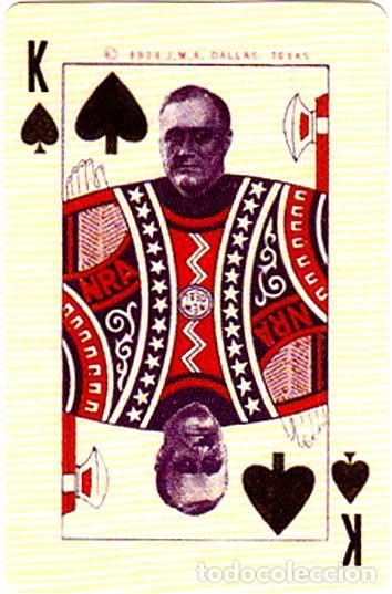 Barajas de cartas: BARAJA ROOSEVELT FDR NEW DEAL DECK OF 1934, USA, NUEVA, PRECINTADA - Foto 4 - 83369030