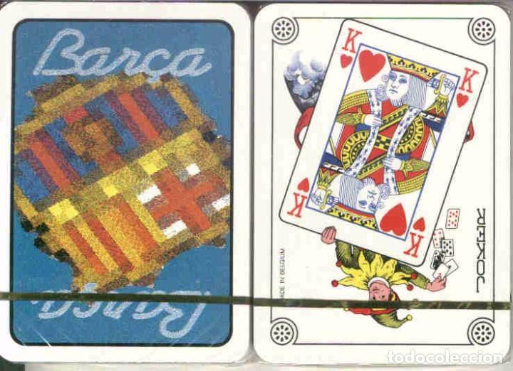 F. C. BARCELONA BARAJA DE POKER (Juguetes y Juegos - Cartas y Naipes - Barajas de Póker)