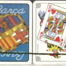 Barajas de cartas: F. C. BARCELONA BARAJA DE POKER. Lote 83600748