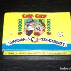 Barajas de cartas: CHIP Y CHOP GUARDIANES RESCATADORES - BARAJA INFANTIL HERACLIO FOURNIER HF - NUEVA PRECINTADA. Lote 83849552
