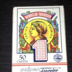 Barajas de cartas: BARAJA ESPAÑOLA 50 CARTAS - HERACLIO FOURNIER - NAIPES PRECINTADA. Lote 83849764