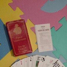 Barajas de cartas: BARAJA CARTAS TAROT COGNAC COURVOISIER. Lote 84205744
