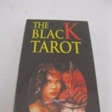 Barajas de cartas: BARAJA TAROT - THE BLACK TAROT - LUIS ROYO - HERACLIO FOURNIER - NUEVA - SIN ESTRENAR.. Lote 84232252