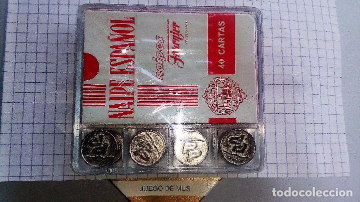 Barajas de cartas: PARTIDO POPULAR*BARAJA PARA MUS* -EN CAJA METACRILATO+BARAJA FOURNIER TEMA Y PITAS - Foto 2 - 195150897