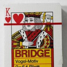 Barajas de cartas: BARAJA BRIDGE PELIKAN PRECINTADA, MUY RARA, NAIPE NAIPES. Lote 84350812