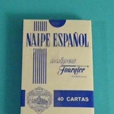 Barajas de cartas: BARAJA NAIPE ESPAÑOL. PUBLICIDAD IBERCAJA. HERACLIO FOURNIER. Lote 84449356