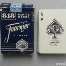 Barajas de cartas: BARAJA DE POKER CLÁSICA. NAIPES HERACLIO FOURNIER VITORIA.. Lote 84480924
