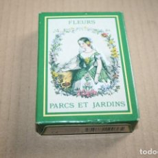 Barajas de cartas: BARAJA DE POKER FRANCESA PARQUES Y JARDINES. Lote 84633332
