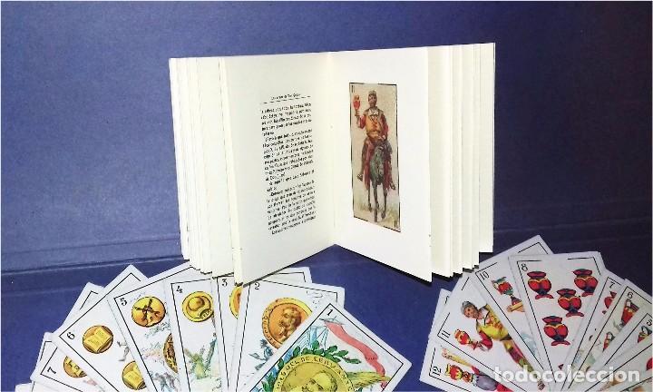 Barajas de cartas: BARAJA - LAS ARMAS DE DON QUIJOTE - EVARISTO JUNCOSA HIJO - COMPLETA + SU ORIGEN: LIBRO 1908 - Foto 3 - 84906780