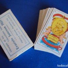Barajas de cartas: (PA-170488)BARAJA DE CARTAS (COMPLETA) 48 NAIPES DON JUAN TENORIO - CHOCOLATES EVARISTO JUNCOSA. Lote 85026216