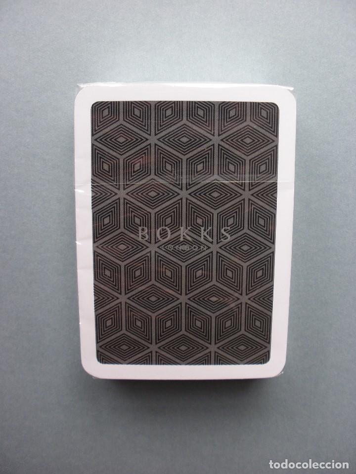 Barajas de cartas: RARÍSIMA BARAJA POKER PUBLICIDAD BOKKS LONDON, NUEVA, PRECINTADA - Foto 3 - 105560826