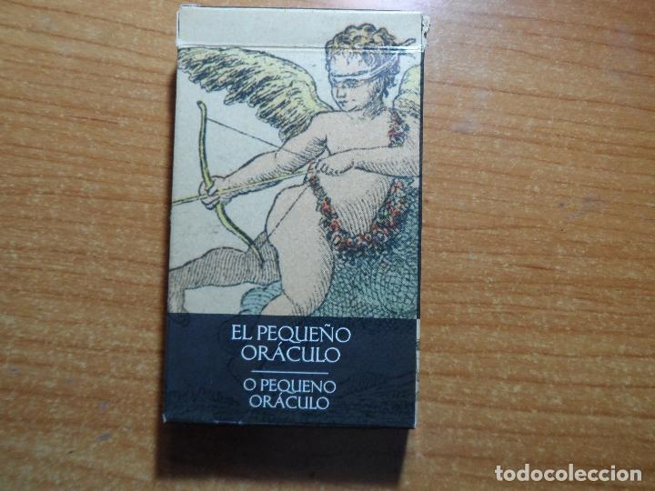 BARAJA DE CARTAS DE TAROT PEQUEÑO ORACULO LO SCARABEO ORBIS AÑO 2002 32 CARTAS (Juguetes y Juegos - Cartas y Naipes - Barajas Tarot)