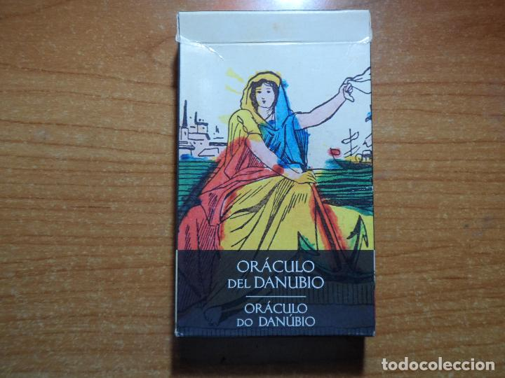 BARAJA DE CARTAS DE TAROT.EL ORACULO DEL DANUBIO LO SCARABEO ORBIS AÑO 2002 32 CARTAS (Juguetes y Juegos - Cartas y Naipes - Barajas Tarot)