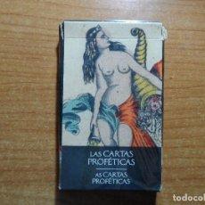 Barajas de cartas: BARAJA DE CARTAS DE TAROT LAS CARTAS PROFETICAS LO SCARABEO ORBIS AÑO 2002 32 CARTAS . Lote 85269268