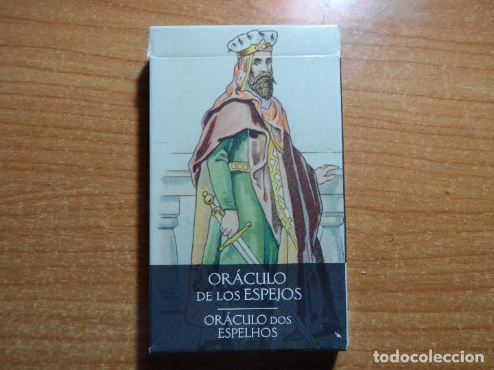 BARAJA DE CARTAS DE TAROT EL ORACULO DE LOS ESPEJOS LO SCARABEO ORBIS AÑO 2002 32 CARTAS (Juguetes y Juegos - Cartas y Naipes - Barajas Tarot)