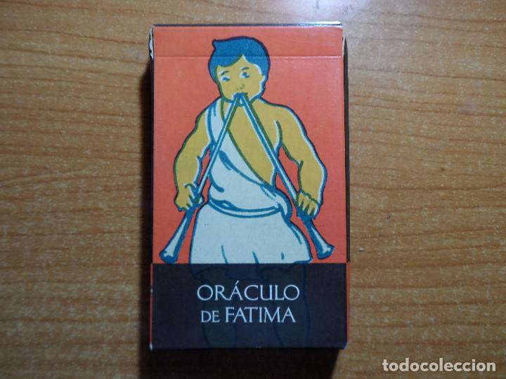 BARAJA DE CARTAS DE TAROT EL ORACULO DE FATIMA LO SCARABEO ORBIS AÑO 2002 32 CARTAS (Juguetes y Juegos - Cartas y Naipes - Barajas Tarot)
