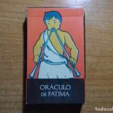 Barajas de cartas: BARAJA DE CARTAS DE TAROT EL ORACULO DE FATIMA LO SCARABEO ORBIS AÑO 2002 32 CARTAS. Lote 85366440