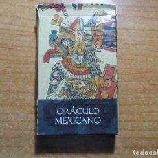 Barajas de cartas: BARAJA DE CARTAS DE TAROT EL ORACULO MEXICANO LO SCARABEO ORBIS AÑO 2002 32 CARTAS. Lote 85366488