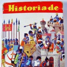 Barajas de cartas: HISTORIA DE ESPAÑA. FOURNIER. 48 CARTAS. COMPLETA. BUEN ESTADO. . Lote 85394252
