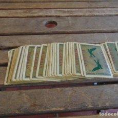 Barajas de cartas: BARAJA DE CARTAS ESPAÑOLA FABRICADA POR HERACLIO FOURNIER PUBLICIDAD CERVEZA EXTREMADURA EL GAVILAN. Lote 85404500