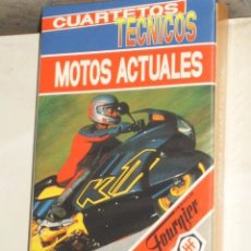 Barajas de cartas: BARAJA INFANTIL MOTOS ACTUALES,CUARTETOS.. Lote 85448648