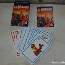 Barajas de cartas: BARAJA INFANTIL LOS ARISTOGATOS.. Lote 85449404