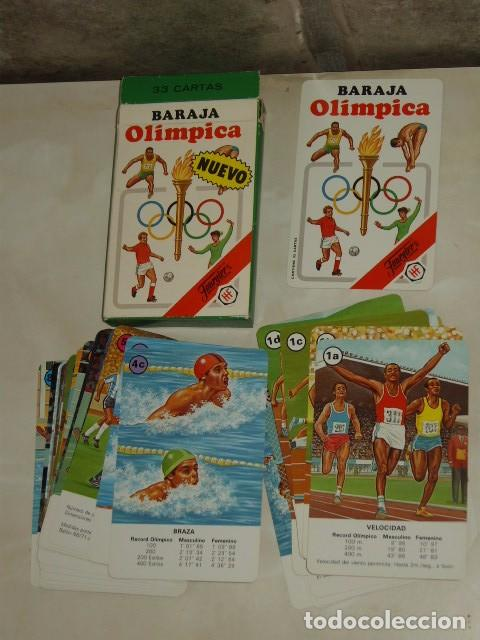 Barajas de cartas: BARAJA INFANTIL OLIMPICA. - Foto 2 - 152457810