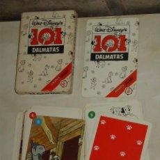 Barajas de cartas: BARAJA INFANTIL LOS 101 DALMATAS.. Lote 85451028