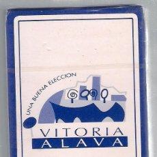 Barajas de cartas: -66961 BARAJA VITORIA ALAVA, UNA BUENA SELECCION, HERACLIO FOURNIER, ESPAÑOLA, 40 CARTAS, TURISMO. Lote 85499084