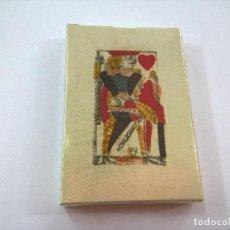 Barajas de cartas: BARAJA PARA PIQUET,ISLAS BRITANICAS,SIGLO XVIII(HACIA 1780)-PRECINTADA-REPRODUCCION-N. Lote 85499516