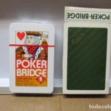 Barajas de cartas: BARAJA POKER-BRIDGE ALEMANA - COMPLETA 54 CARTAS - PUBLICIDAD CERVEZA CARLSBERG - NUEVAS Y PRECINTAD. Lote 85584260