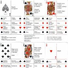 Barajas de cartas: CARTAS ADIVINATORIAS DEL FUTURO. Lote 135182382