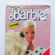 Barajas de cartas: BARBIE BARAJA INFANTIL DE HERACLIO FOURNIER AÑO 1989 NUEVA - PRECINTADA. Lote 86259056