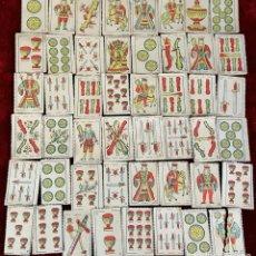 Barajas de cartas: BARAJA DE NAIPES ESPAÑOLES. 48 CARTAS EN MINIATURA. CIRCA 1950.. Lote 86273264