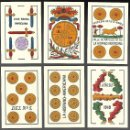 Barajas de cartas: BARAJA EL TORO DE JUAN ROURA, DE 1940, 48 NAIPES, SIN INDICES. SIN ESTRENAR. ENVOLTURA ORIGINAL.. Lote 86329192