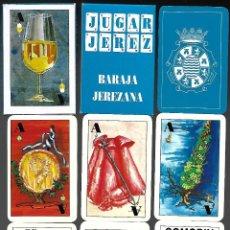 Barajas de cartas: BARAJA JEREZANA, S. FERRER, GRAFICAS DEL EXPORTADOR DE 1992, 40 CARTAS + 2 COMODINES SIN ESTRENAR. . Lote 86488572