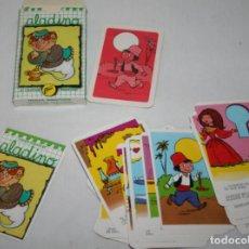 Barajas de cartas: ANTIGUA BARAJA DE CARTAS, PAREJAS ALADINO, NAIPES COMAS 1974, COMO NUEVA. Lote 86509208
