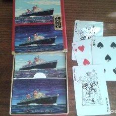 Barajas de cartas: 2 ANTIGUAS BARAJAS DE NAIPES DE POKER AMERICANAS. Lote 86523040