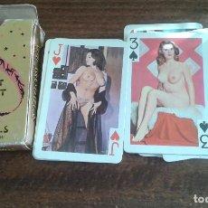Barajas de cartas: ANTIGUA BARAJA DE POKER EROTICA. Lote 86523088