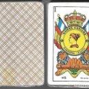 Barajas de cartas: BARAJA NAIPES CASTAÑE Nº 5, DE 1984, PRECINTADA, 40 CARTAS + 2 COMODINES. REVERSO MARRON . Lote 86600460
