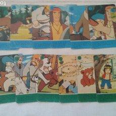 Barajas de cartas: BARAJA CARTA JACKY, EL OSO DE TALLAC (FOURNIER, 1978). Lote 86608739