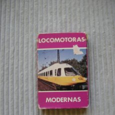 Barajas de cartas: BARAJA DE CARTAS LOCOMOTORAS MODERNAS. 1986. HERACLIO FOURNIER. COMPLETA.. Lote 173107803
