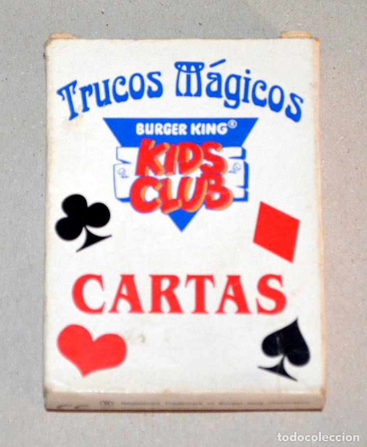 BARAJA CARTAS TRUCOS MÁGICOS. KIDS CLUB, BURGER KING. (Juguetes y Juegos - Cartas y Naipes - Barajas Infantiles)