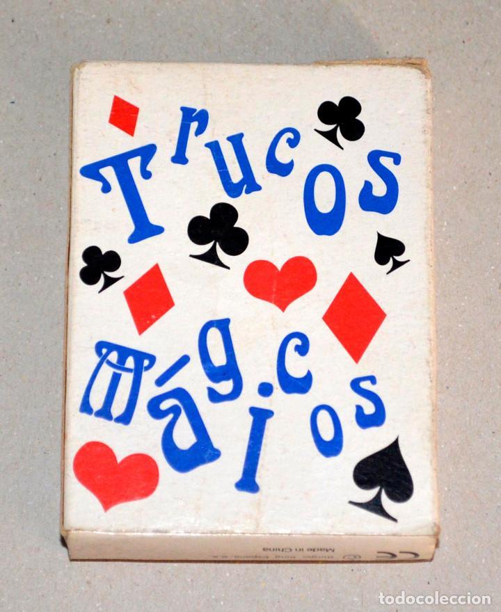 Barajas de cartas: Baraja cartas Trucos Mágicos. Kids Club, Burger King. - Foto 2 - 86688412