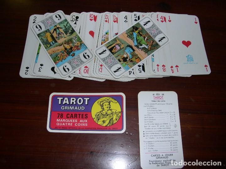 CARTAS TAROT FEDERATION FRANCAISE TAROT (Juguetes y Juegos - Cartas y Naipes - Barajas Tarot)