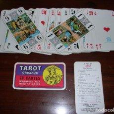 Barajas de cartas: CARTAS TAROT FEDERATION FRANCAISE TAROT. Lote 86723484