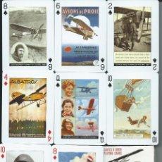 Barajas de cartas: BARAJA ESPECIAL PIONEROS DE LA AVIACION-AÑO 2009. Lote 86860928
